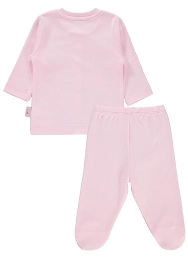 Kujju Pijama Takım Pembe